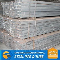 Q195-Q345 ERW HDG rectanggular steel tube form TianJin