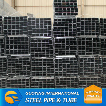 Rigid 10*20-50*100mmHot Dip Galvanized ERW Pipe(BS Standard) tianjin factory high quality