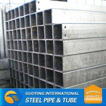 gi furniture pipe/galvanised steel tube