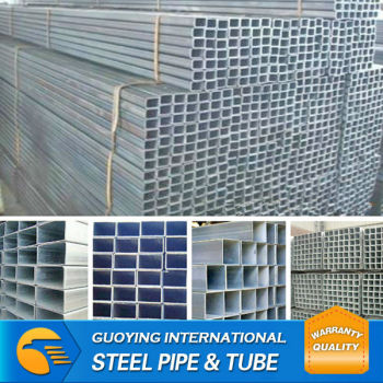 thin wall thickness steel pipe/galvanized steel pipe manufacturer