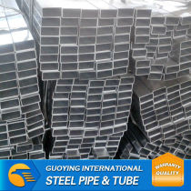MS carbon galvanized square tube within 20 day directly from warehouses