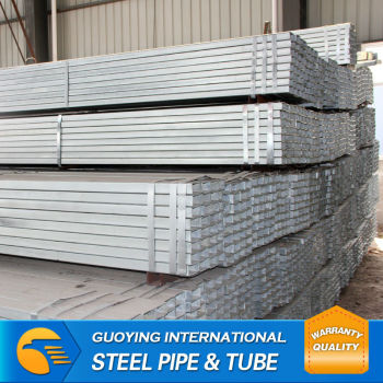 gi pipe/galvanized square steel tubing prices made in china