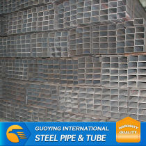 thin wall welded square steel tube factory roof construction material