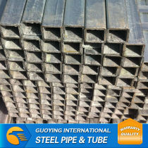 Q235 gi square pipe low carbon supplier by China factory