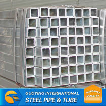 Q235 square pipe for construction supplier by China factory