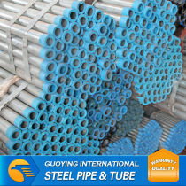 Q195 galvanized steel pipe price