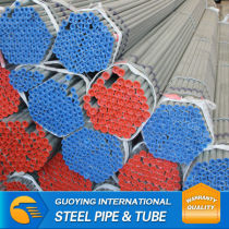 FOB high quality hot dipped galvanized Steel pipe buy direct from factory