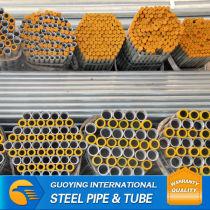"3.5""x12mm ASTM ERW hot galvanized steel pipe"
