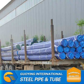 galvanized carbon steel pipe Thread with Coupling or cap have stock