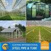 construction material hot dip galvanized tube use greenhouse frame