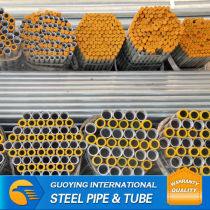 thickness hot dipped galvanized pipe