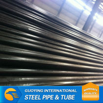 x52 supply erw carbon black steel pipe or tube hollow section