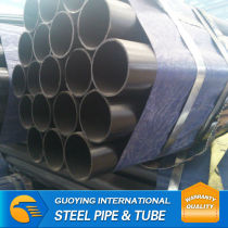2 inch weights BS 1387 black steel pipe for construction Tianjin Factory