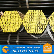 Supply ERW mechanical Mild carbon steel pipe price list