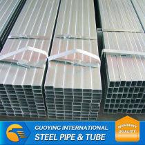 ISO standard welded galvanized steel pipe balcony railing