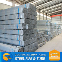 MILD STEEL PIPE pre-galvanized square pipe WITH HIGH QUALITY WHITE ZINC CARBON STEEL EXPORTER