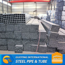 Mild Steel ltd Pre-galvanised square pipe for steel structure China Factory Export