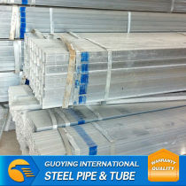 Line pipe for Steel structure China Factory Export Pre-galvanised square pipe