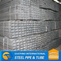 galvanised square steel pipe top supplier from tianjin china