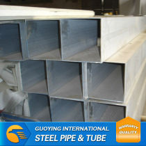 hollow section pre galvanized square pipe from China Origin
