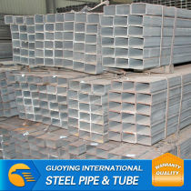 SS400 200*200mm ERW Hot dip galvanized square hollow section