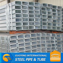 best selling hot dip galvnaized rectangular steel pipe