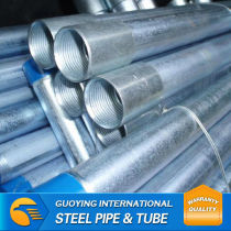 BS1387 THREADED GALVANIZED STEEL PIPE