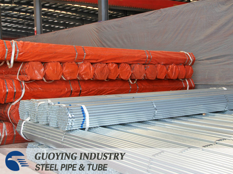 galvanized tensile strength astm a53 carbon steel pipe