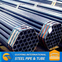 high frequency/hot rolled/welded schedule 20 black steel pipe