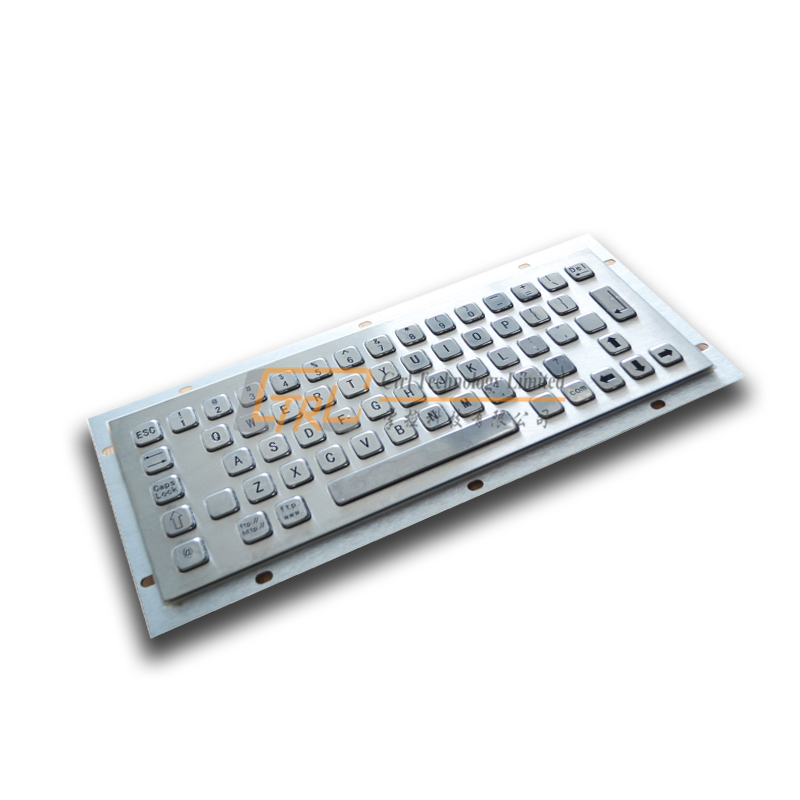 Standard Metal Keyboard for Kiosk application, no pointing device