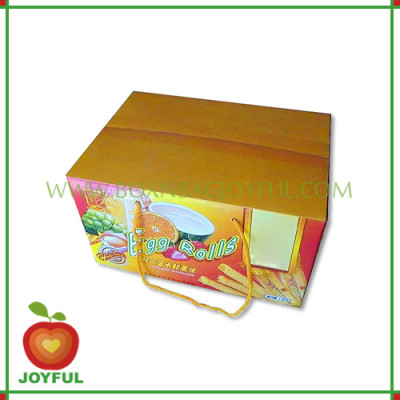 food packaging box / snack packaging box