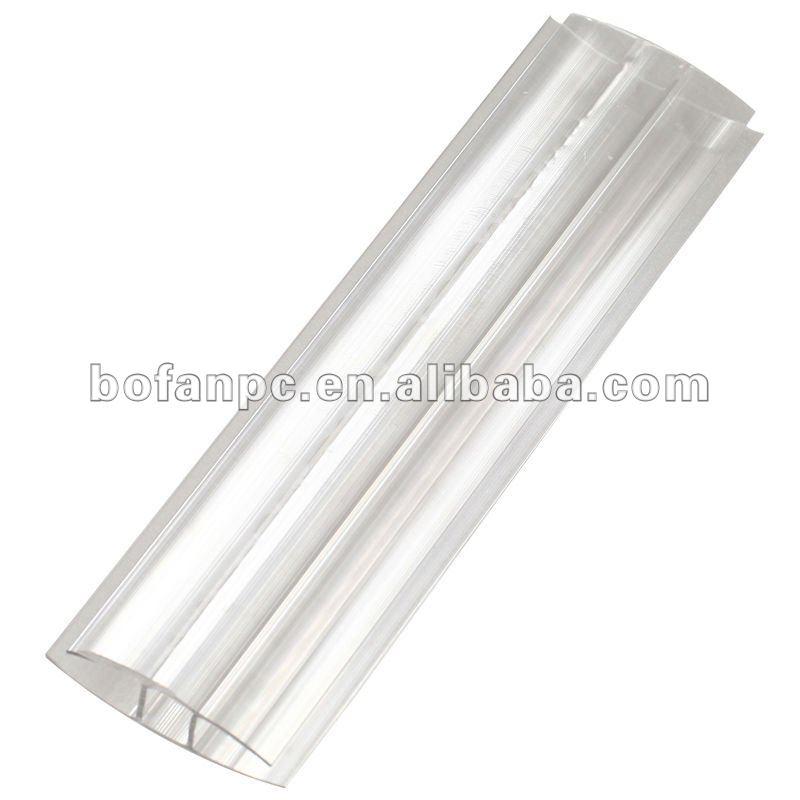 Pvc Corner Connectors : Polycarbonate connector pc profile h buy pvc plastic