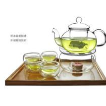 High Heat Resistant Borosilicate Glass Tea Set