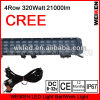 four row 320w cree accessories 5000hrs led offroad light bar