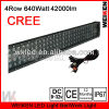 cree accessories 640W 4row led offroad light bar