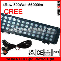 Cree multi led color AND accessories 800W four row led light bar