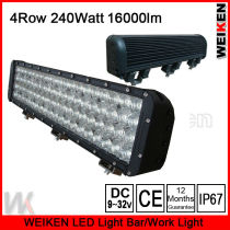 four row aluminum profile LED off road light bar for ATV UTV with good waterproof and quality