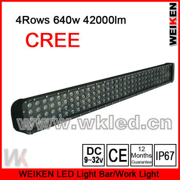 42000lm high power and brightness led bar light