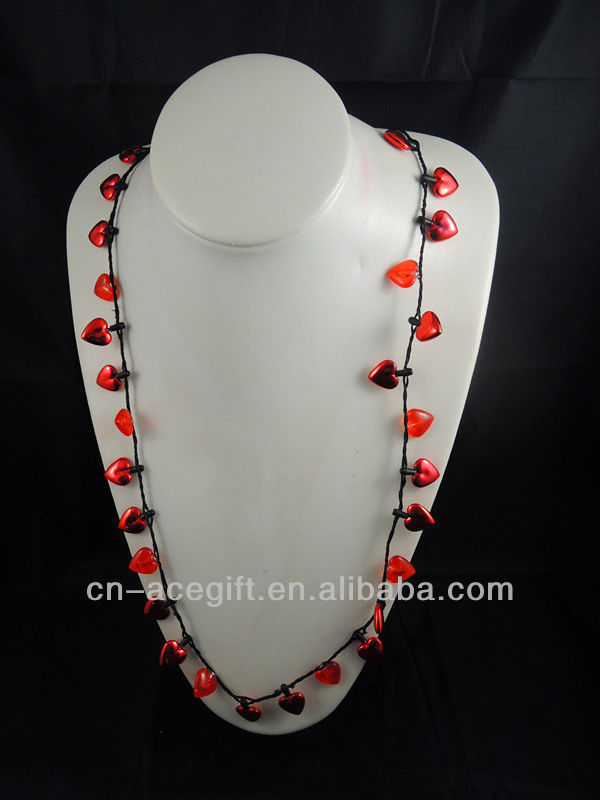 christmas light up necklace, light up novelty necklaces, Flashing ...