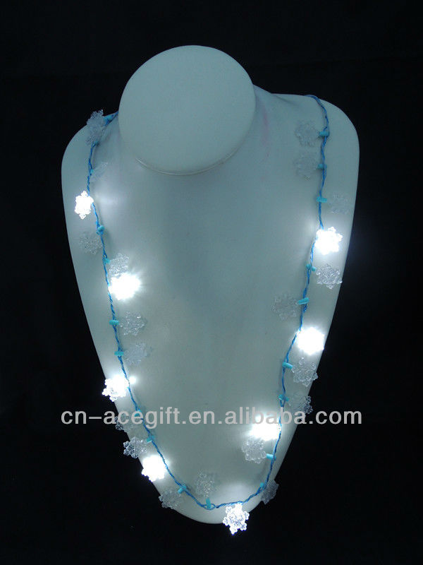 light up christmas jewelry,holiday flashing necklace,Party ...