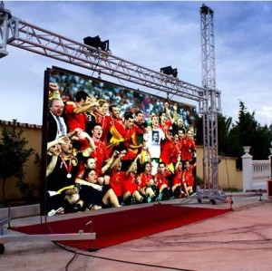P10mm DIP Outdoor Rental LED Display