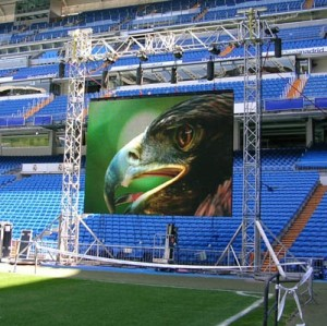 P8mm SMD5050 Outdoor Rental LED Display