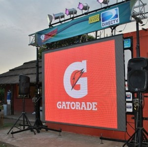 Full color P6mm Ultra-Thin LED Display for outdoor Rental