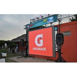 P6mm Outdoor Aluminum Rental LED Display