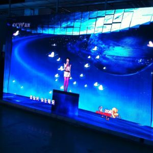 P4mm Black Surface Indoor Die casting Rental LED Display