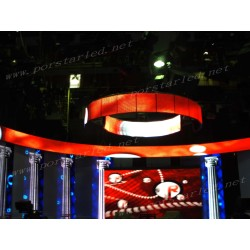 P10mm Indoor Slim Light Rental LED Display