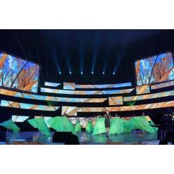 P20mm Curtain Mesh Rental LED Display