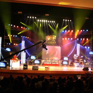 P8.928mm Indoor Curtain Mesh LED Display for Background Stage event