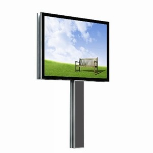 Outdoor P10mm Single Column Advertising LED Display