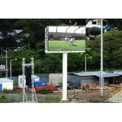 Waterproof Single Column Advertising Outdoor LED Display